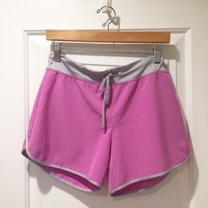 Pretty Pink Quick Dry Athletic Running Shorts S